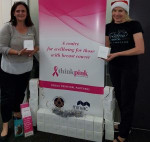 Think Pink - Donating candles